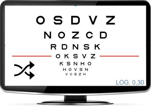 Random logMAR Visual Acuity